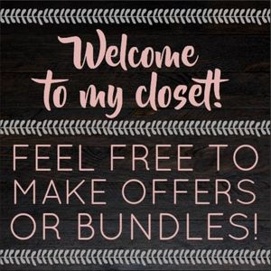 Feel Free to Make Offers & Bundles!